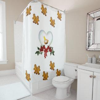 Weihnachtsduschvorhang Duschvorhang