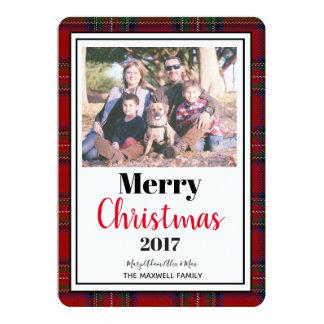 """WeihnachtsEditable Foto-Karte 5"""" x7"""" mit Karte"""