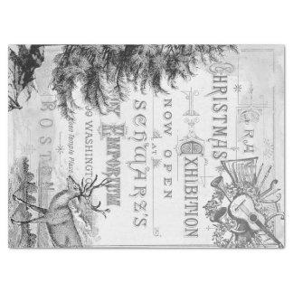 Weihnachtseintagsfliegen Decoupage Gewebe Seidenpapier
