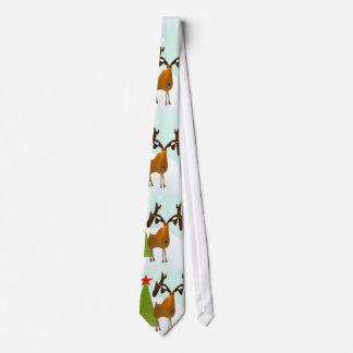 Weihnachts-Krawatten