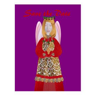 Weihnachtsengel 2010, postkarte