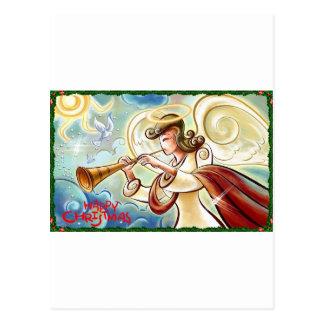 Weihnachtsengel Postkarte