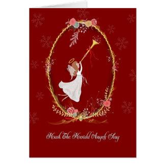 Weihnachtsengels-Gruß-Karte Grußkarte