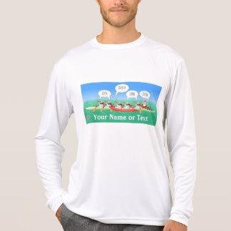 Weihnachtsfeiertags-Paddel T-Shirt