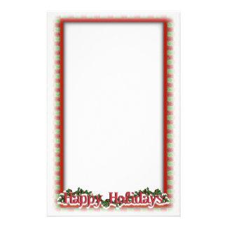 Weihnachtsfeiertags-Schreiben Briefpapier