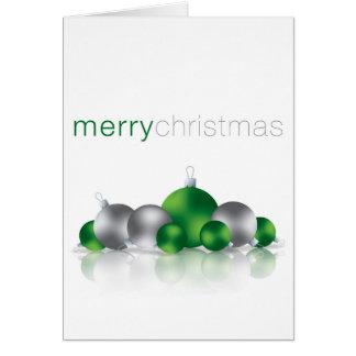 Weihnachtsflitter Karte
