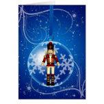 Weihnachtsflitter mit Sternen und Schnee