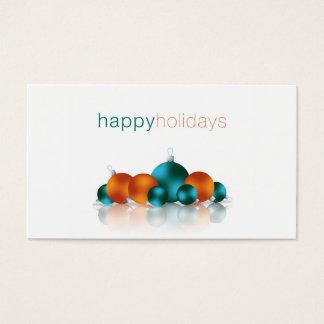 Weihnachtsflitter Visitenkarte