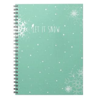 WeihnachtsFoto-Album Spiral Notizbücher