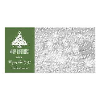 WeihnachtsFotokarten mit kundenspezifischem Personalisierte Foto Karte