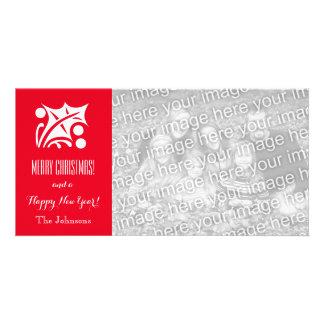 WeihnachtsFotokarten mit kundenspezifischem Individuelle Fotokarte