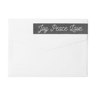 Weihnachtsfreude-FriedensLiebe-Gewohnheits-Tafel