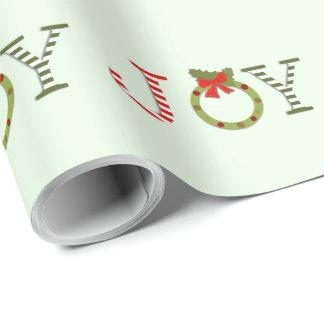 Weihnachtsfreude Geschenkpapier