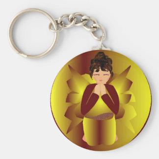 Weihnachtsfriedensengel Schlüsselanhänger