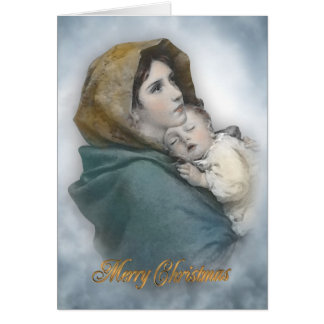 WeihnachtsGeburt Christi die religiöse Karte