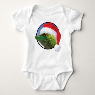 WeihnachtsGecko - Baby-Jersey-Bodysuit Baby Strampler