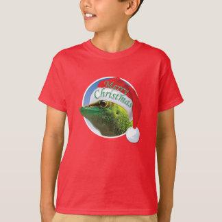 WeihnachtsGecko - grundlegender das Hanes der T-Shirt