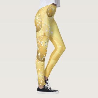 Weihnachtsgeist-Dekoration Leggings