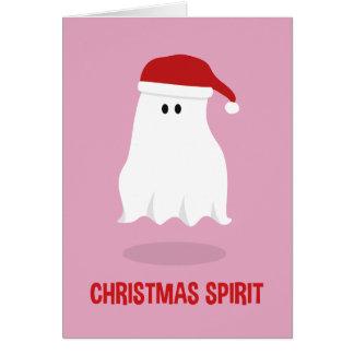 Weihnachtsgeist-Karte Grußkarte