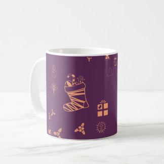 Weihnachtsgekritzel Kaffeetasse