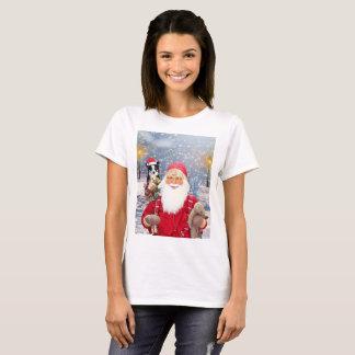 Weihnachtsgeschenk-Border-Collie-Hund T-Shirt