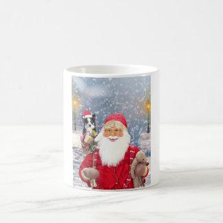 Weihnachtsgeschenk-Border-Collie-Hund Tasse