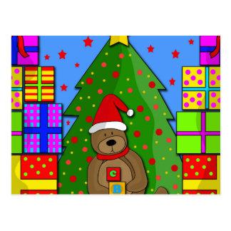 Weihnachtsgeschenke Postkarte