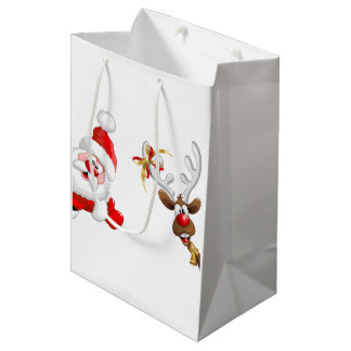 Weihnachtsgeschenktaschen Mittlere Geschenktüte