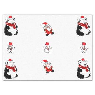 Weihnachtsgewebe Seidenpapier