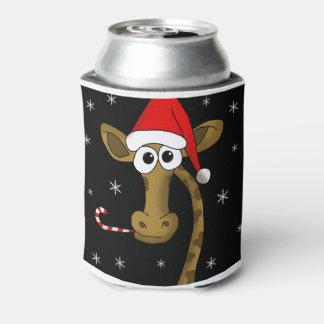 Weihnachtsgiraffe Dosenkühler