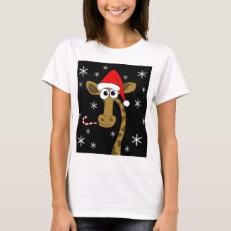 Weihnachtsgiraffe T-Shirt