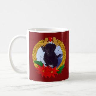 Weihnachtsgirlanden-Foto-Schablonen-Tasse Kaffeetasse