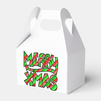 WeihnachtsGraffiti Geschenkschachtel