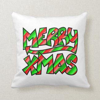 WeihnachtsGraffiti Kissen
