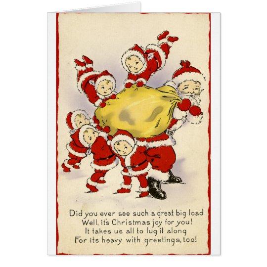 Weihnachtsgruß-Karte Grußkarte