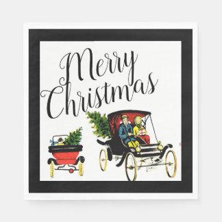Weihnachtsgruß-Papierservietten Papierservietten