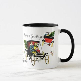 Weihnachtsgruß-Tasse Tasse