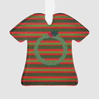Weihnachtshässliche Strickjackeverzierung Ornament