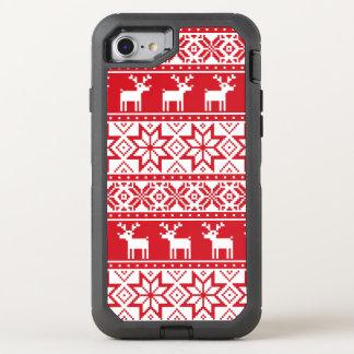 Weihnachtshässliches Strickjacke iPhone 7 OtterBox Defender iPhone 8/7 Hülle