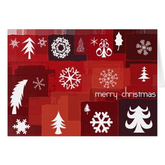 Weihnachtsikonen Grußkarte