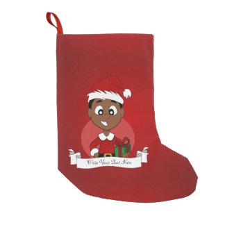 Weihnachtsjungen-Cartoon Kleiner Weihnachtsstrumpf