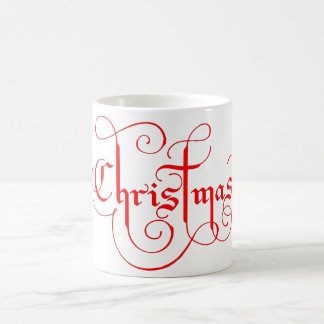 Weihnachtskaffee-Tasse Kaffeetasse