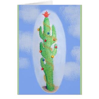 Weihnachtskaktuss-Feiertags-Gruß-Karte Grußkarte