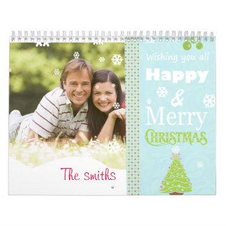 Weihnachtskalender mit Foto Wandkalender