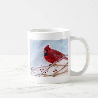 WeihnachtsKardinal Kaffeetasse