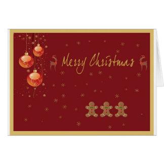 Weihnachtskarte 4 grußkarte