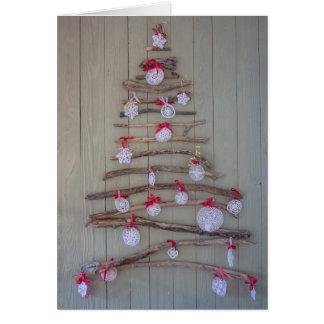 Weihnachtskarte, Baum Karte