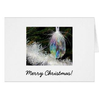 Weihnachtskarte - Diamant-Dekoration Karte