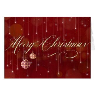 Weihnachtskarte - frohe Weihnacht-und Karte