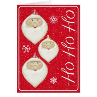 Weihnachtskarte für Familie, Freunde, Mitarbeiter Karte